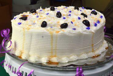 Jarva Plum and Honey Cake