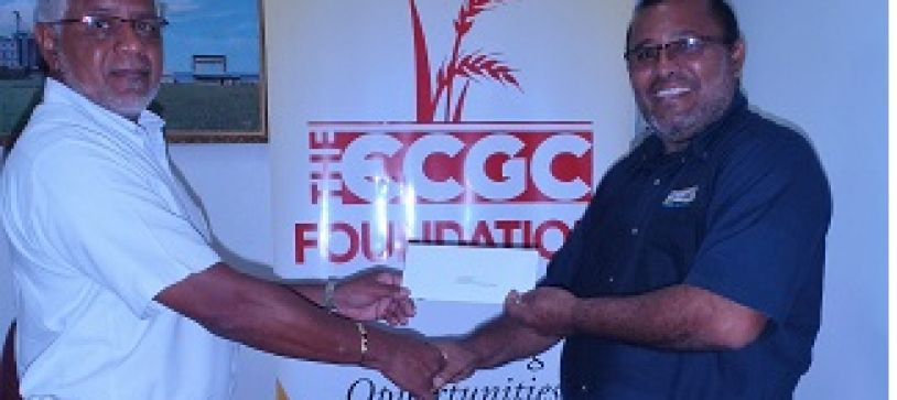 THE ECGC FOUNDATION INC. MAKES ITS FIRST DONATION