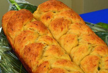 Breadfruit and Saltfish Bread