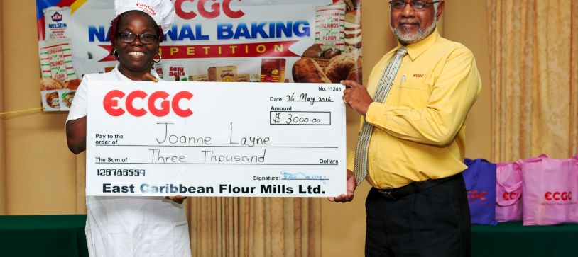 ECGC National Baking Competition Results